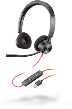 Poly Blackwire 3320-M USB-A