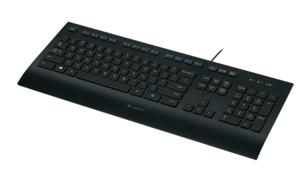 Logitech K280e keyboard USB QWERTY US zw